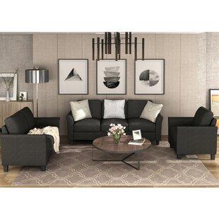 3 Pieces Sofa Set by Red Barrel Studio®
