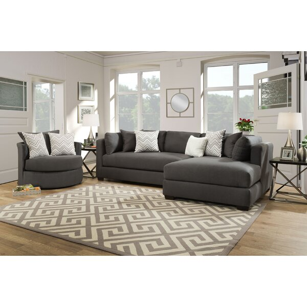 Michaelis Right Hand Facing Sectional by Orren Ellis Orren Ellis