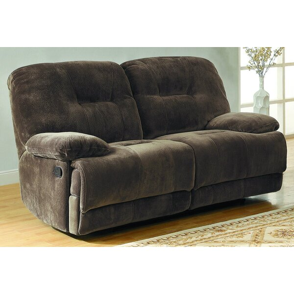 Buster Reclining Loveseat by Millwood Pines