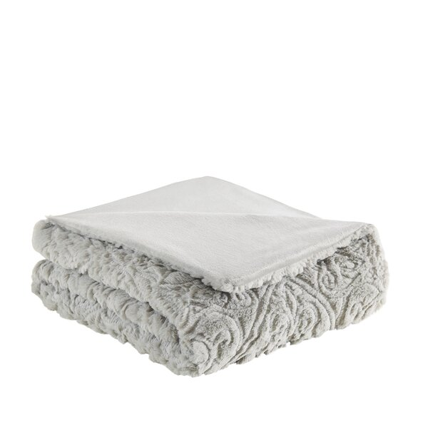 Eleni Ultra Plush Down Alternative Throw by Ophelia & Co.