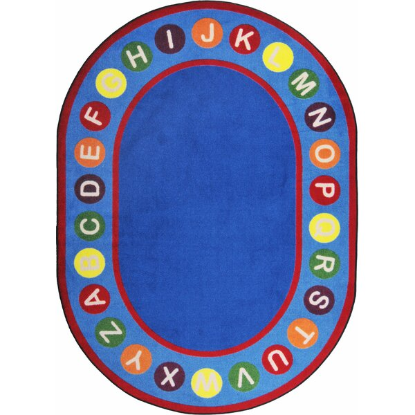 Hand-Tufled Blue/Red Kids Rug by The Conestoga Trading Co.