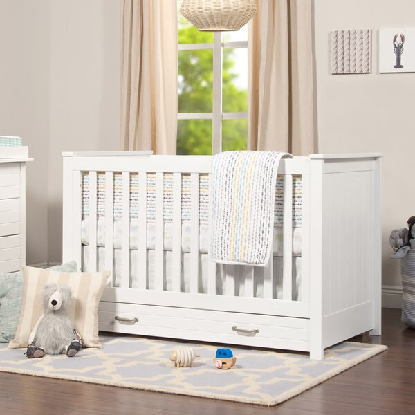 Asher 3-in-1 Convertible Crib with Storage by DaVinci