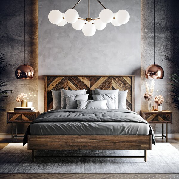 Bove Queen Platfrom Bed by Foundry Select