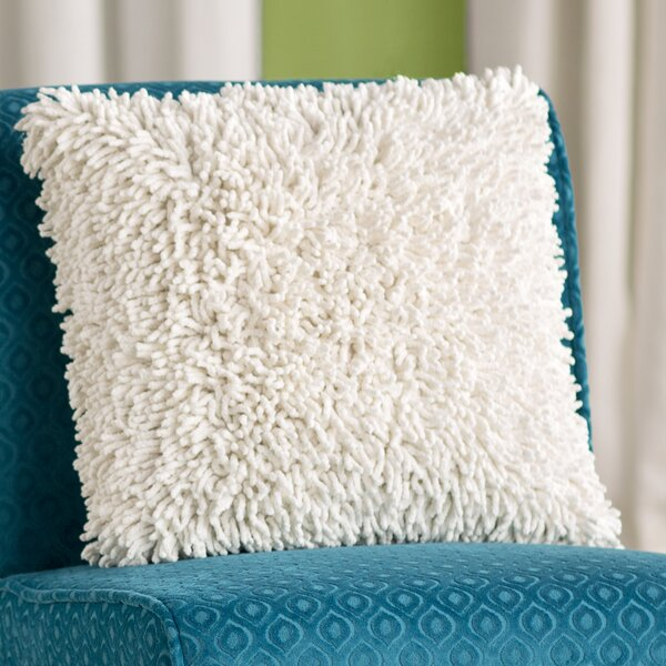 Isabelle Chenille Throw Pillow by Zipcode Design