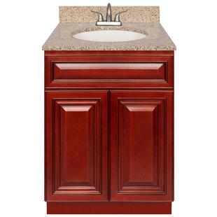 Bargain Edgware 24 Single Bathroom Vanity Set ByCharlton Home