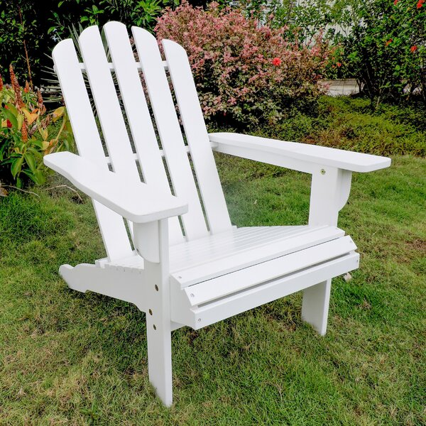 Maly Somerville Wood Adirondack Chair by Loon Peak Loon Peak