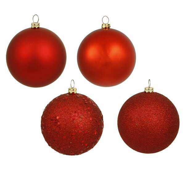 Sequin Ball Ornament Set (Set of 4) by The Holiday