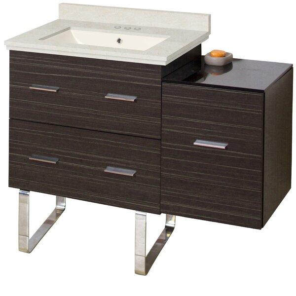 Alican 38 Single Bathroom Vanity Set