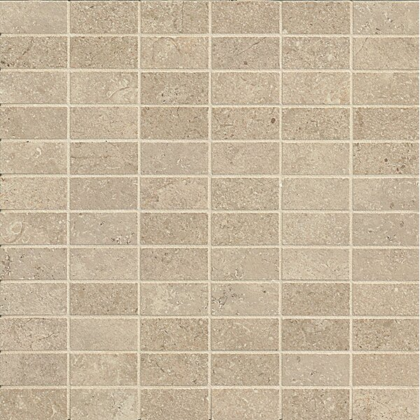 Tribal 1 x 2 Porcelain Mosaic Tile in Hudson by Bedrosians