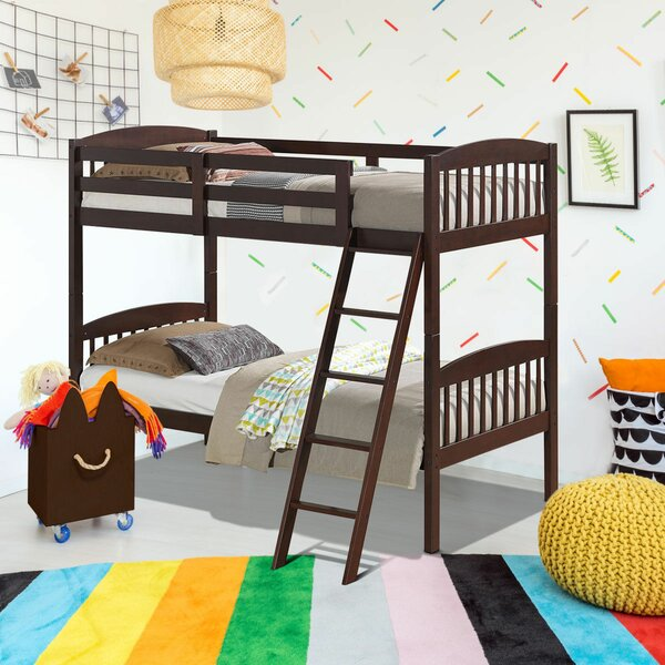 Maumee Twin Bunk Bed by Harriet Bee