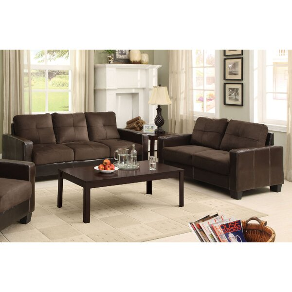 Parma 2 Piece Living Room Set by A&J Homes Studio