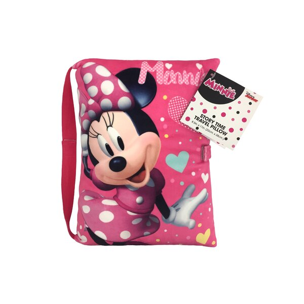 Disney Minnie Mouse Storytime Lumbar Pillow by Shopkins