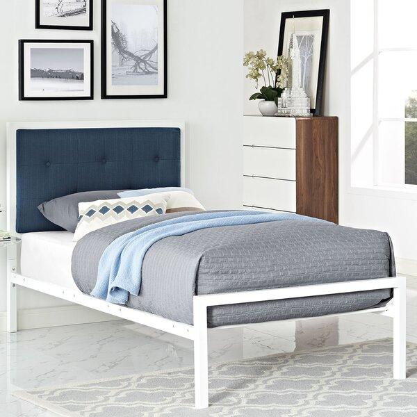 Lottie Upholstered Platform Bed by Modway