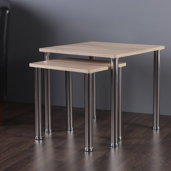 Adelinna 2 Piece Nesting Tables by Latitude Run