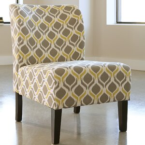 Honnally Gunmetal Slipper Chair by Signature Design by Ashley