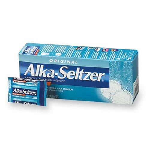 Alka-Seltzer Refills (36 Packs per Box) by Alka-Seltzer®