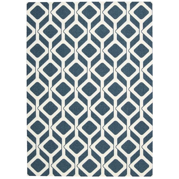 Conforti Cadet Blue Area Rug by Mercury Row