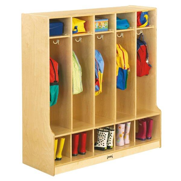 5 Section Coat Locker by Jonti-Craft