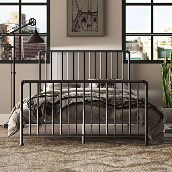 Jessie Sleigh Bed by Trent Austin Design