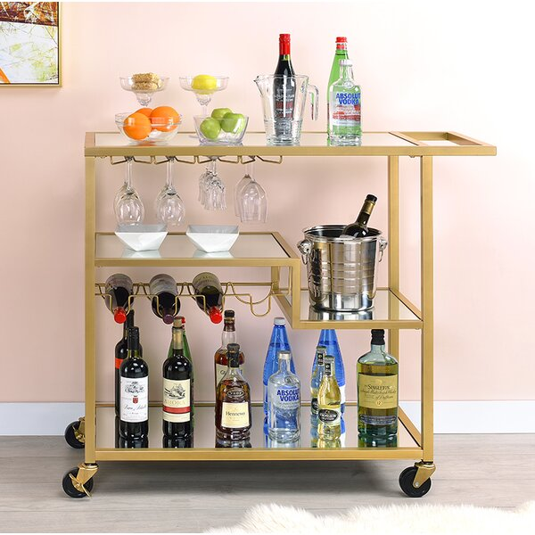 Gayle Bar Cart by Everly Quinn