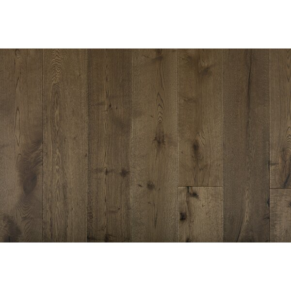 Great Western 7-1/2 Engineered Oak Hardwood Flooring in Brown by GoHaus