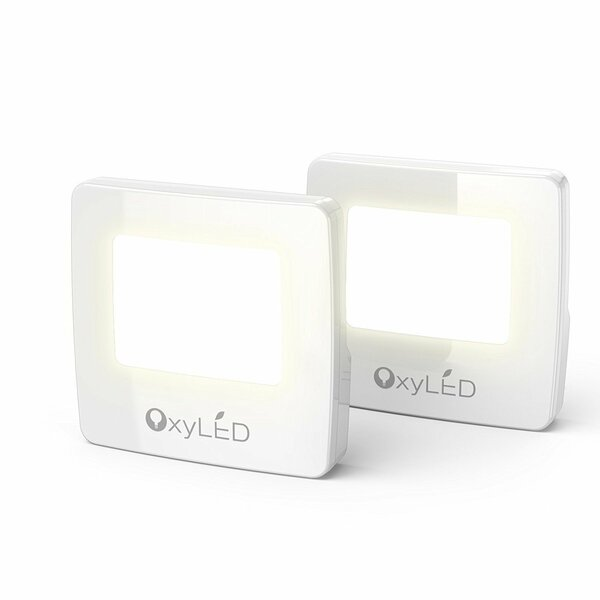 Plug in LED Night Light (Set of 2) by OxyLED