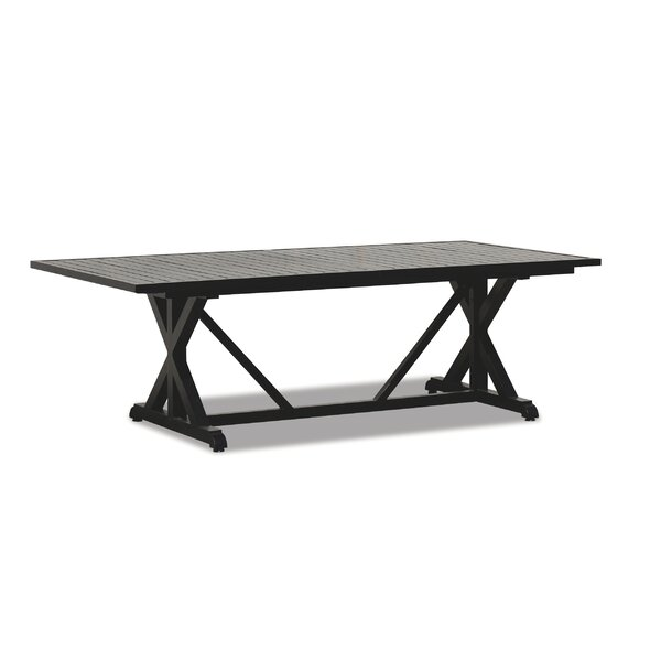 Monterey Metal Dining Table by Sunset West