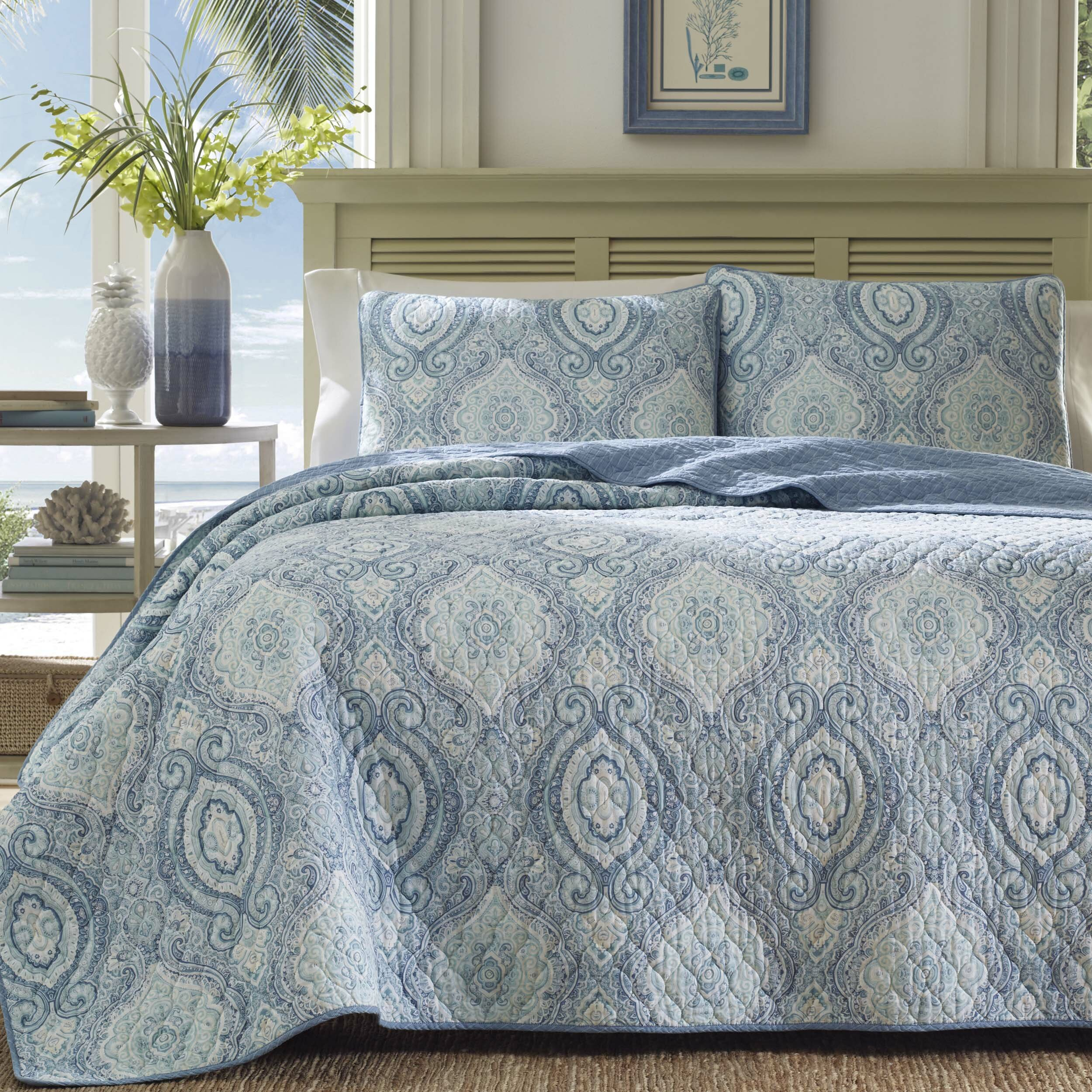 Tommy Bahama Home Turtle Cove Quilt Set Tommy Bahama Bedding ...