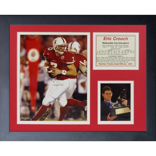 Eric Crouch Framed Memorabilia by Legends Never Die