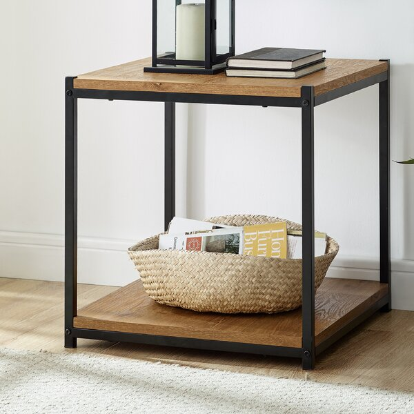 Harless End Table With Storage By Union Rustic