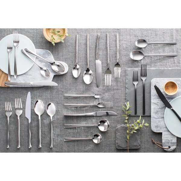 Agave 20-Piece Flatware Set by Mint Pantry
