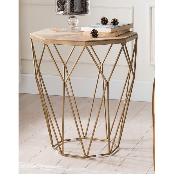 Hideaway End Table by Ivy Bronx