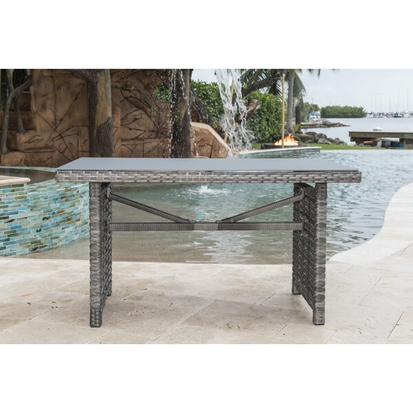 Graphite Coffee Table by Panama Jack Outdoor