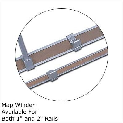 10Map Rail Accessories - Map Winder (Set of 2) by Marsh