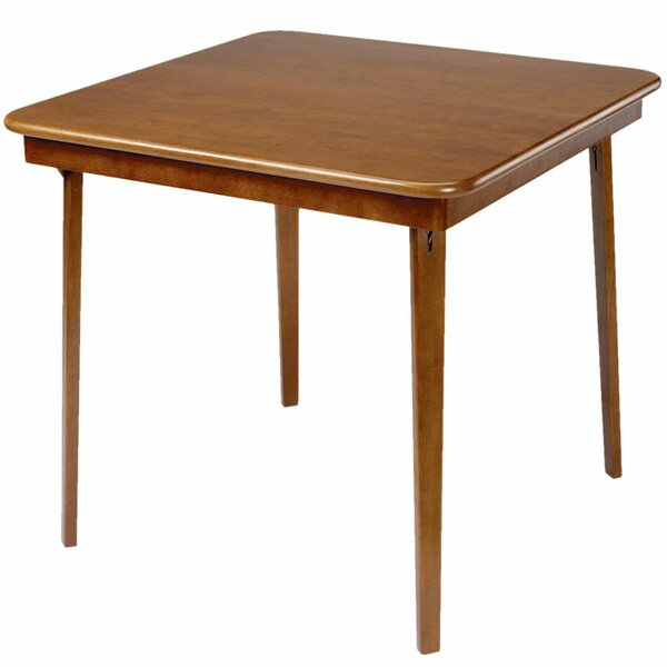 32 Square Folding Cards Table by Stakmore Company,