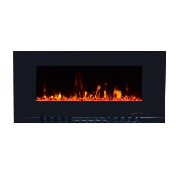 Ericksen Recessed Wall Mounted Electric Fireplace by Orren Ellis Orren Ellis