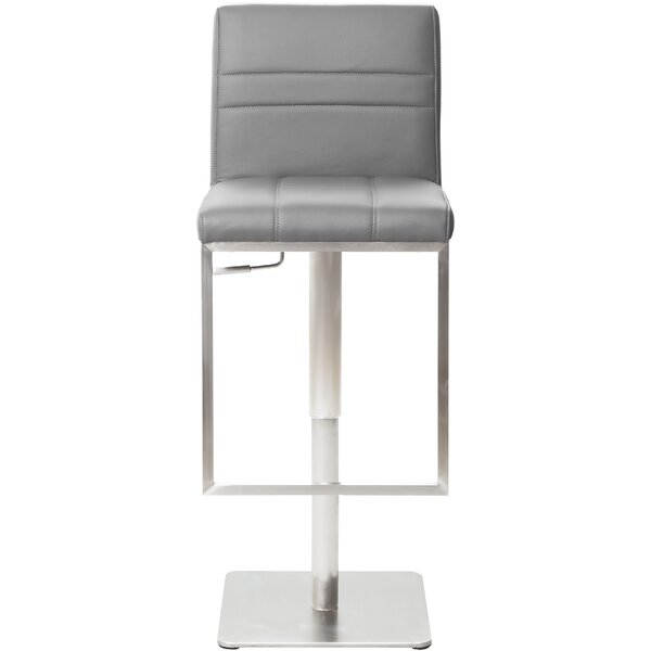 Adjustable Height Swivel Bar Stool by Matrix
