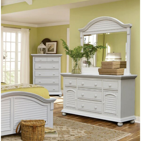 Best #1 Laguna 5 Drawer Dresser With Mirror By Rosecliff Heights 2019 Coupon