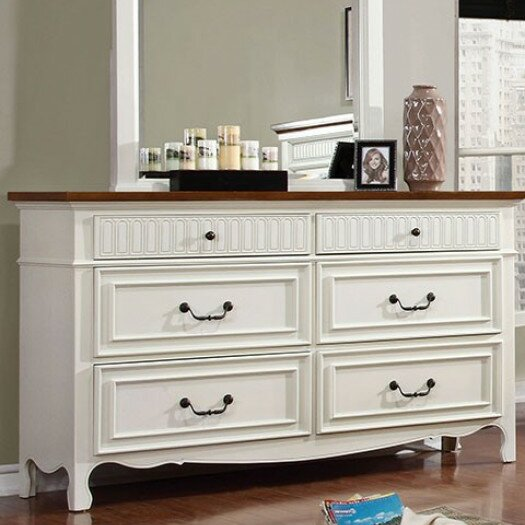 Marcelina 6 Drawer Double Dresser by Darby Home Co