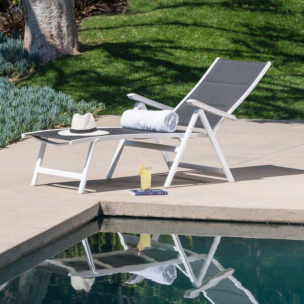 Aidan Reclining Chaise Lounge by Ebern Designs