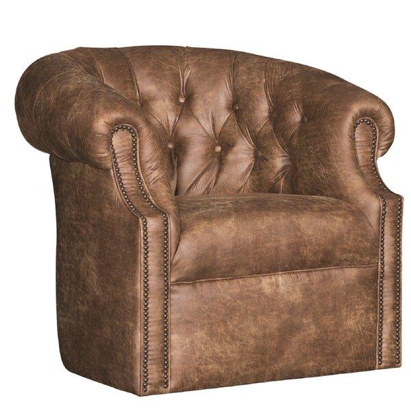 Cuellar Swivel Barrel Chair By Darby Home Co