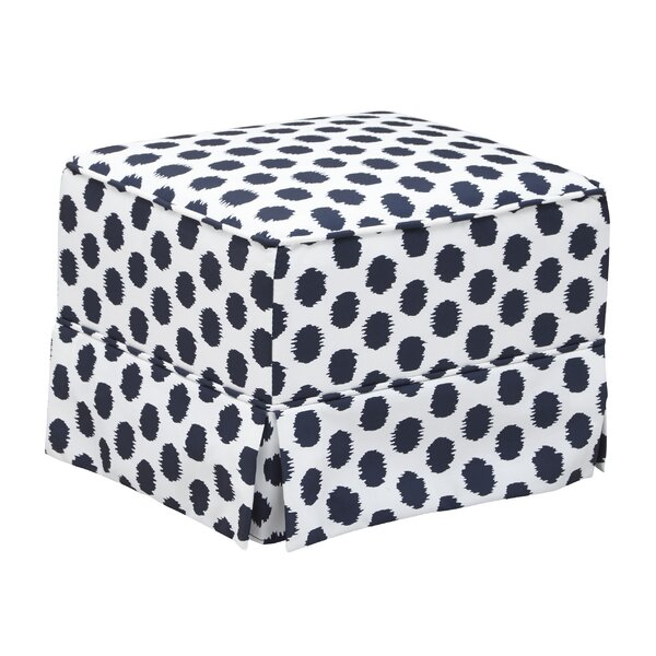 Polka Dot Glider Ottoman by Storkcraft