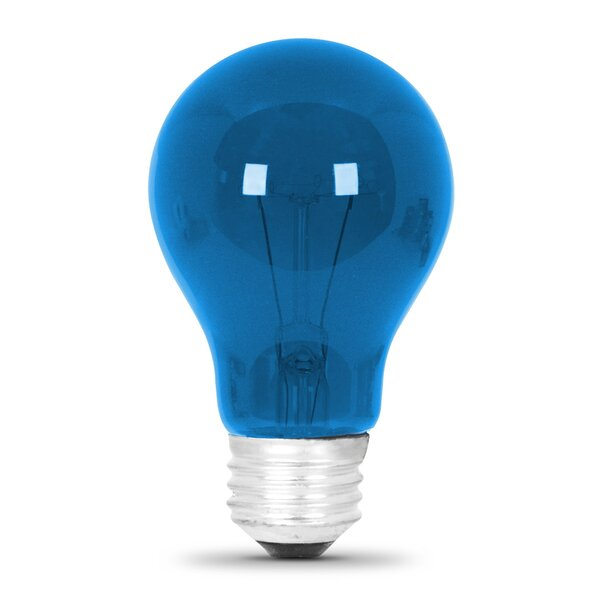 25W Blue 120-Volt Incandescent Light Bulb by FeitElectric