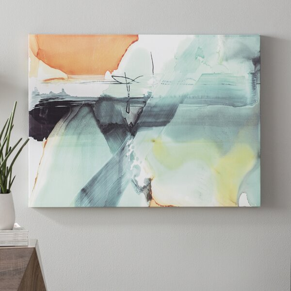 Blue Skies Painting Print on Wrapped Canvas by Langley Street
