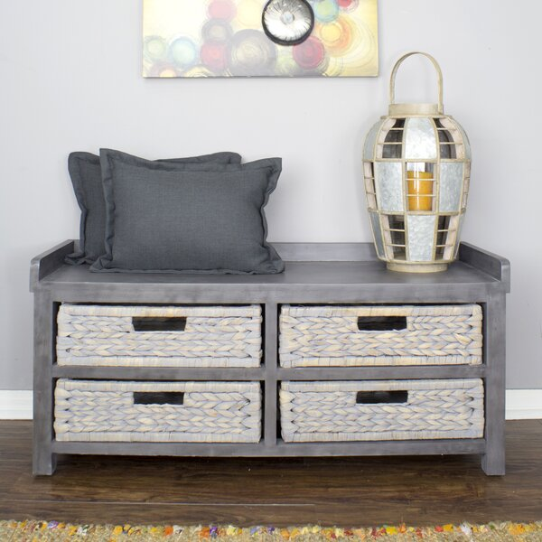 Maher Storage Bench by Rosecliff Heights Rosecliff Heights