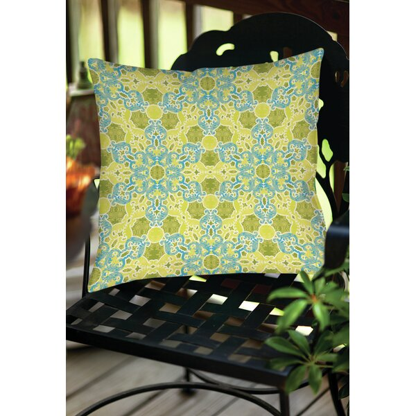 Funhouse 47 Indoor/Outdoor Throw Pillow by Manual Woodworkers & Weavers