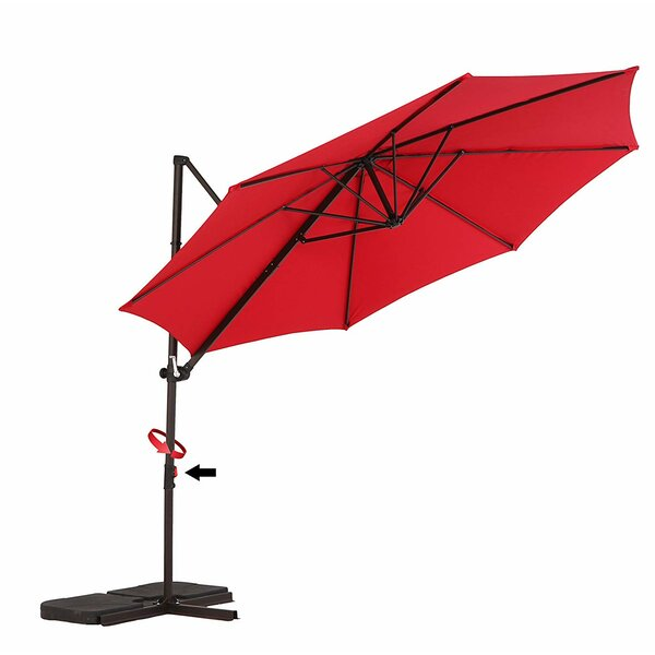 Isan 6.5' Wall Mount Umbrella by Ebern Designs Ebern Designs