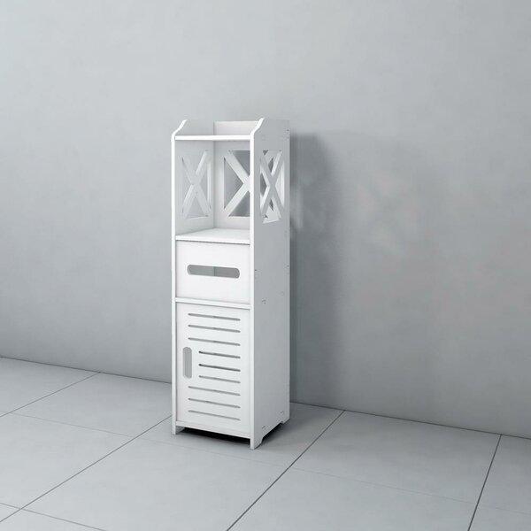 Steinberg 9'' W x 31'' H x 9'' D Free-Standing Bathroom Cabinet