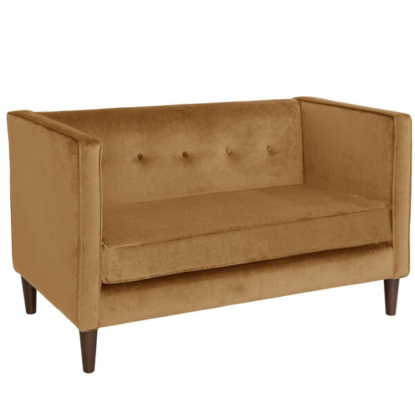 Diego Chesterfield Loveseat by Willa Arlo Interiors