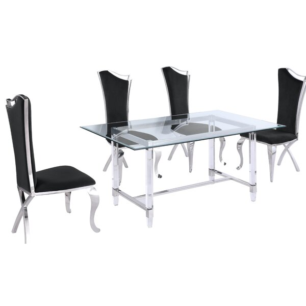 Edel 7 Piece Dining Sets By Rosdorf Park